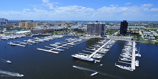 Palm Harbor Marina West Palm Beach Aerial