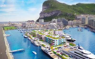 Marina Bay - the heart of Ocean Village - will be revitalised with a completely new floating marina system, superyacht berths and luxury waterfront apartments.